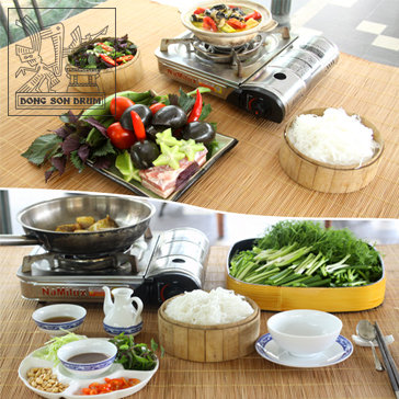 Trải Nghiệm 01 Trong 05 Set Ăn Đặc Biệt Tại Dong Son Drum Restaurant