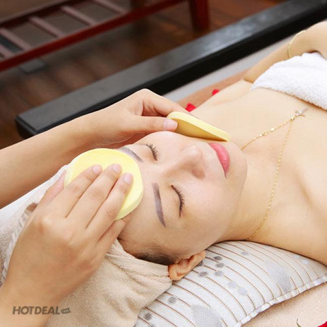Chạy Vitamin C, Hút Dầu, Nhờn, Đắp Mặt Nạ + Massage Mặt, Làm...