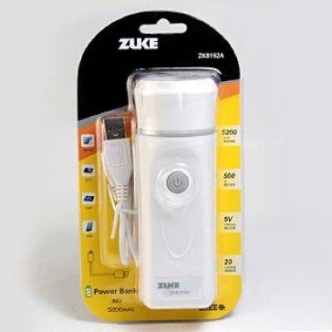 Đèn Pin Siêu Sáng Kiêm Sạc Dự Phòng Zuke ZK8152A