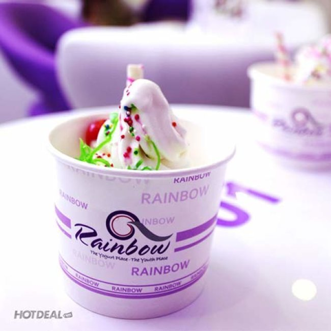 Hệ Thống Rainbow Yogurt 5 Chi Nhánh - Giá Sốc Ăn Thả Ga!
