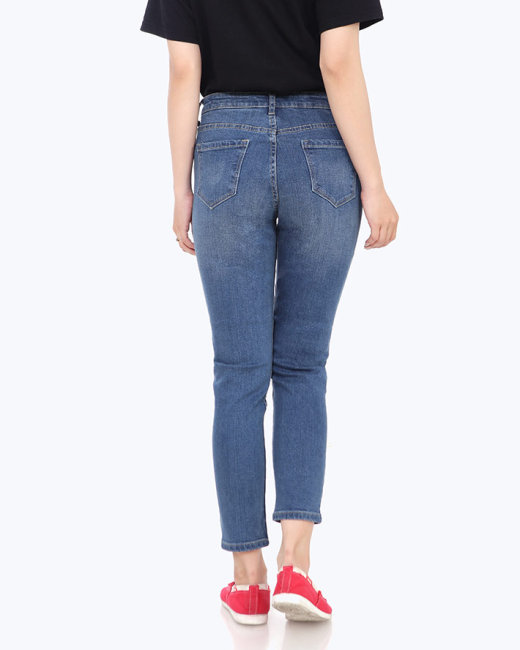 Quần Jean Nữ Form Rộng TH Alo Jeans