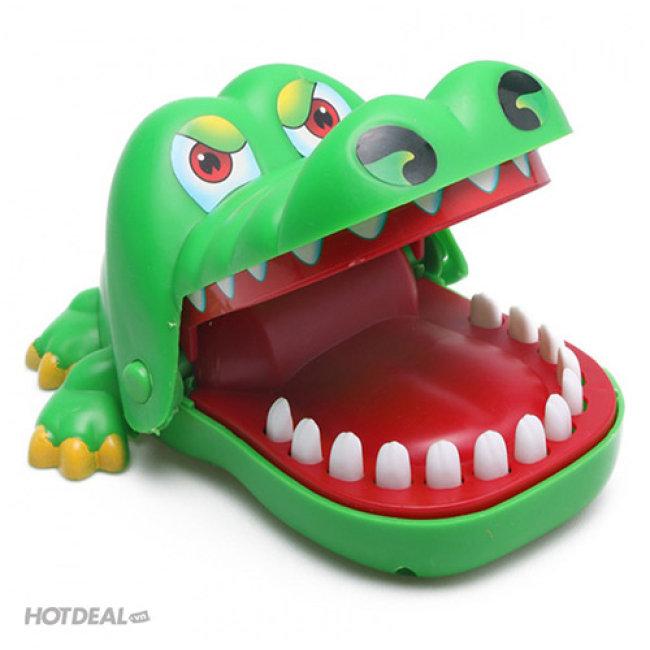 Trò Chơi Khám Răng Cá Sấu (Loại Lớn)