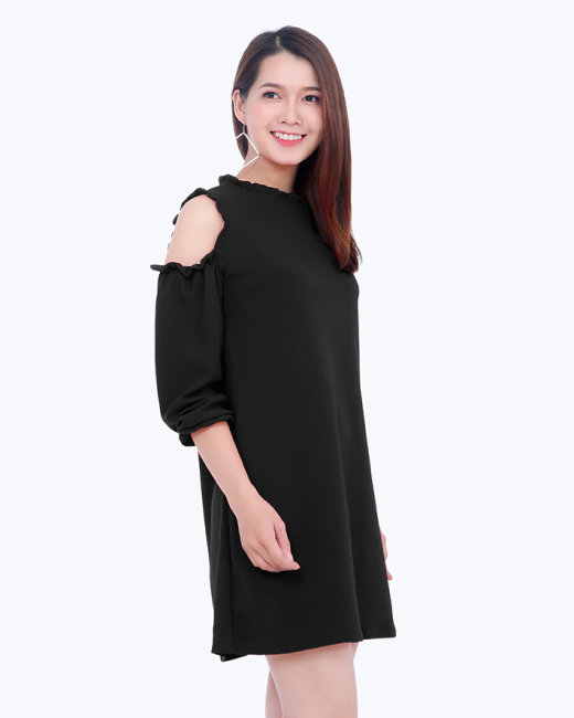 Đầm Suông Cut Out Tay Lỡ New Style