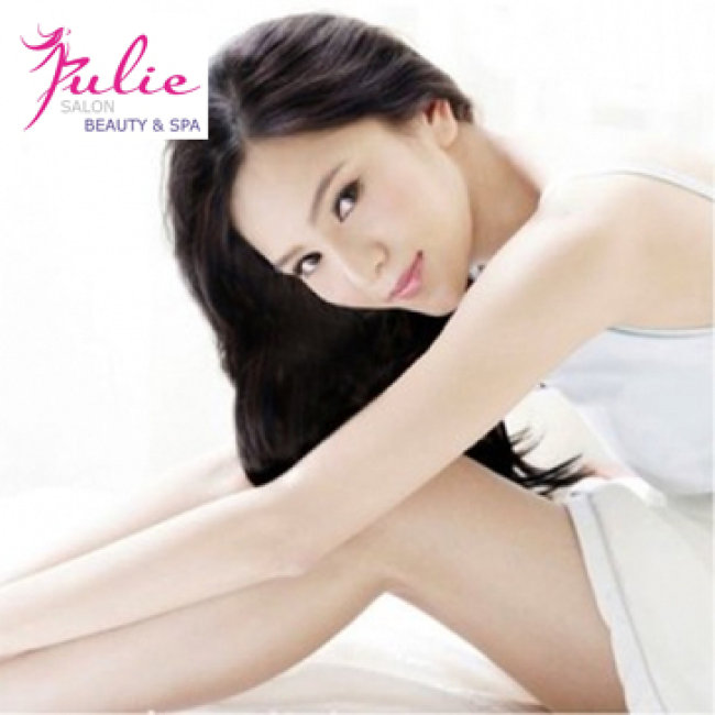 Triệt Lông Trọn Gói Bảo Hành Trọn Đời Tại Julie Beauty Spa