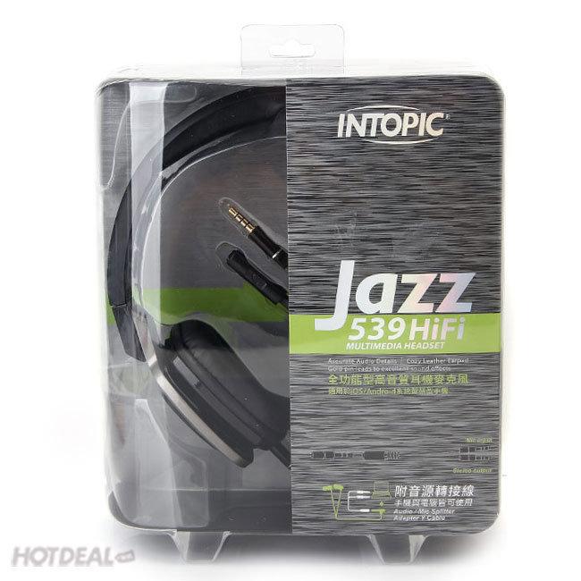 Tai Nghe Intopic Jazz-M539 (Có Mic)