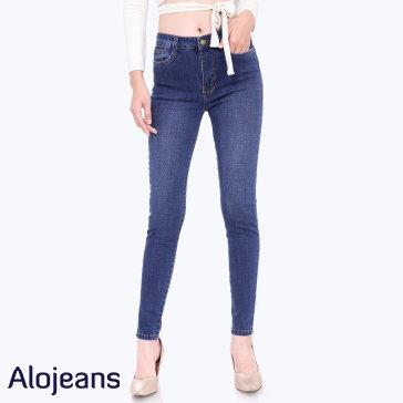 Quần Jean Nữ Trơn TH Alojeans