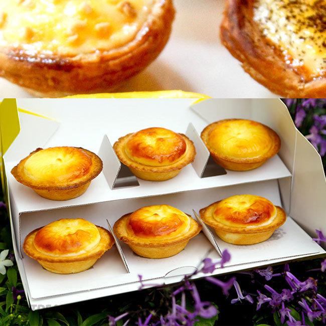 Combo 6 Bánh Tart Nhân Trứng Muối, Phô Mai, Trứng Tại Michi Bakery