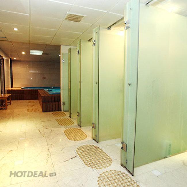 Luxury Massage Body/ Foot 60'+Sauna, Steambath Tại Eden Saigon Hotel 4*