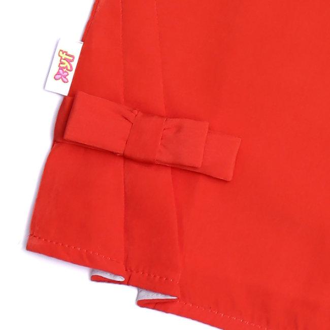 Áo Kiểu Hoa Đắp Nổi Cho Bé Gái TH YF (5AX145)