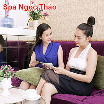 Massage Đá Nóng Chuyên Sâu/ Chăm Sóc Da Mặt Tại Spa Ngọc Thảo