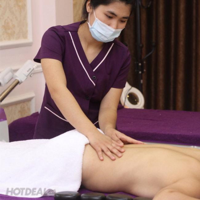 Massage Lưng, Đầu, Cổ, Vai, Gáy Và Trẻ Hóa Da Với Lô Hội Và...