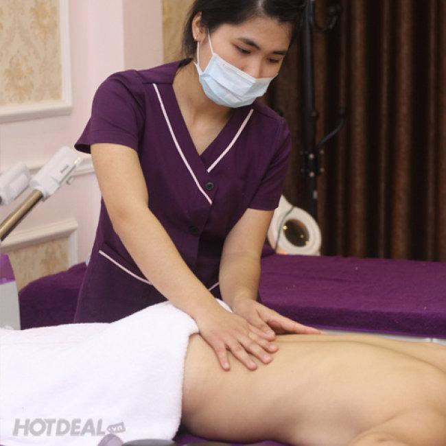 Xông Hơi, Tẩy Da Chết + Massage Body - Golden Moon Spa