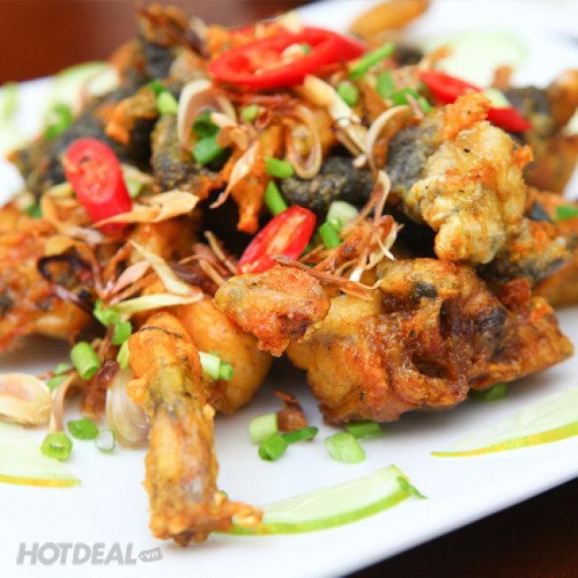 Lẩu Ếch Siêu Hấp Dẫn Ăn Kèm 04 Món Tại Nhà Hàng AT Restaurant