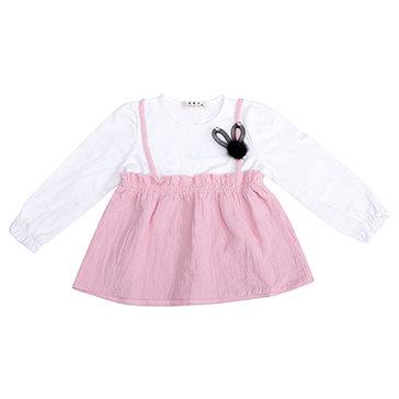 Đầm Yếm Bé Gái Đính Phụ Kiện Cute
