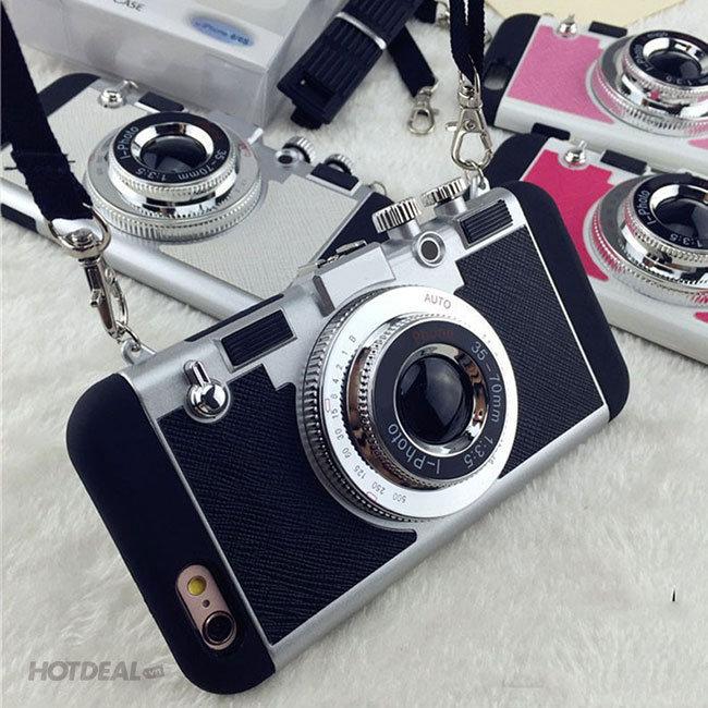 Ốp Lưng Máy Ảnh Cho iPhone 5/ 5S/ 5SE Đẹp Độc