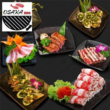 Buffet Nướng & Lẩu Thỏa Thích Osaka BBQ