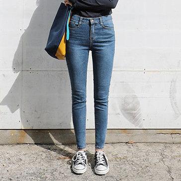 Quần Jeans Nữ Lưng Cao Thời Trang HD (340)