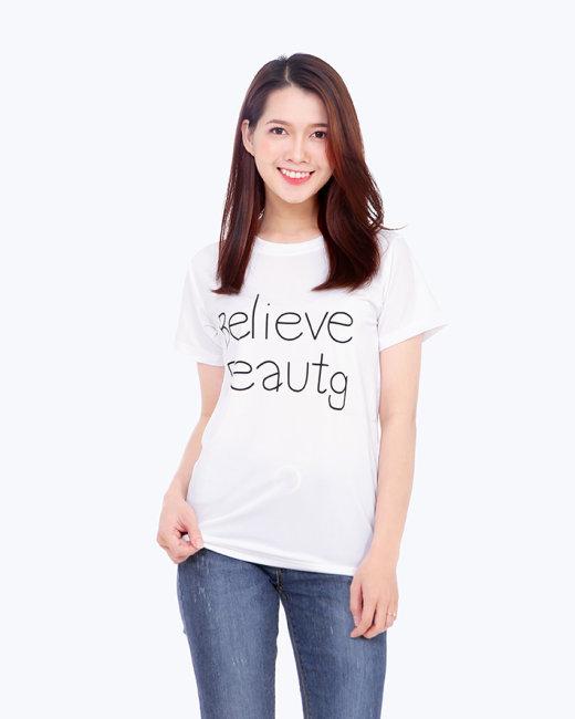 Áo Thun Nữ Style In Chữ