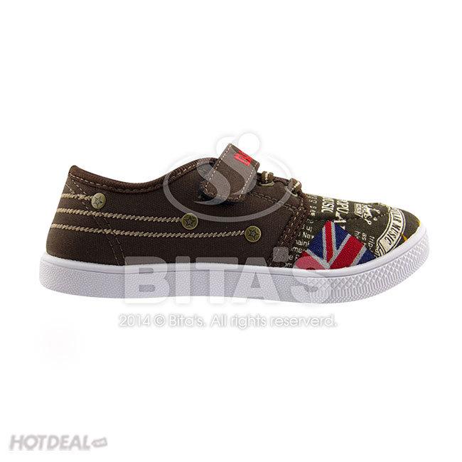 Giày Thể Thao Bé Trai GVBT.20 (Đen, Nâu)