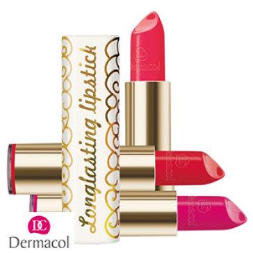Son Lì Sáp Longlasting Lipstick Dermacol Lâu Trôi Mềm Môi