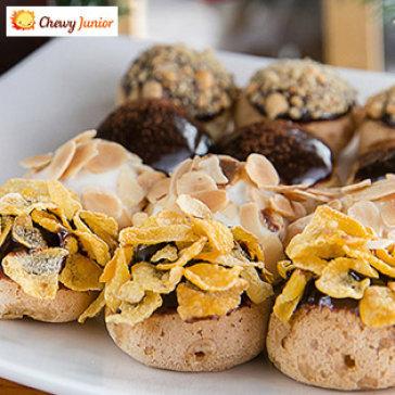 Thưởng Thức Bánh Su Kem Singapore Chewy Junior - Toàn Quốc