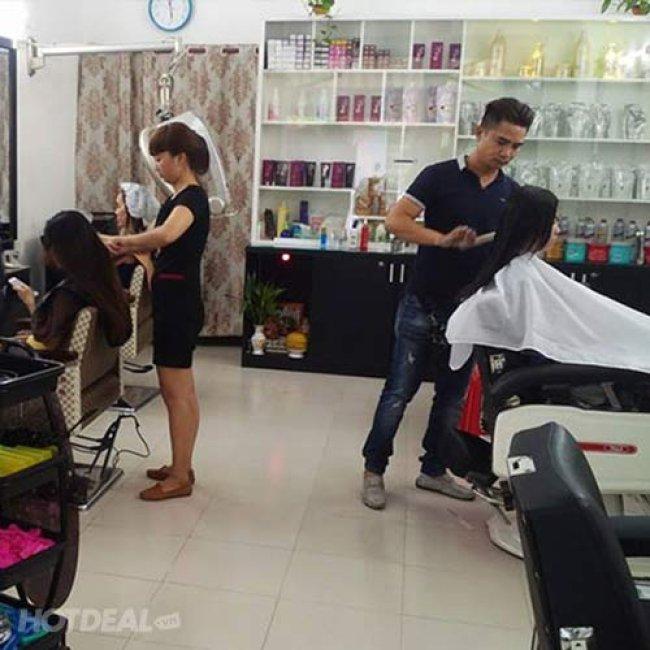 Tóc Đẹp Đón Xuân - Free Phun Nano Cho Mái Tóc Óng Mượt - Salon Vũ...