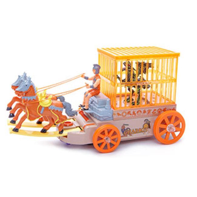 Cổ Máy Xe Ngựa Kéo Thông Minh Cho Bé