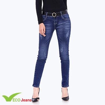 Quần Jean Dài Nữ-JNAD-038M1