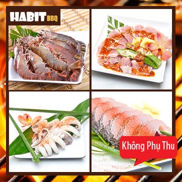 Buffet Nướng Lẩu - Habit BBQ Menu Tasty
