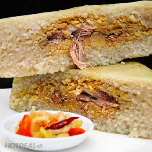 01 Cặp Bánh Chưng Hương Vị Đặc Biệt Từ Hải Dương 1 Kg/ Bánh