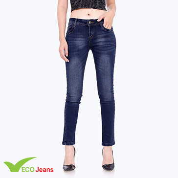 Quần Jean Dài Nữ - JNAD-036M1