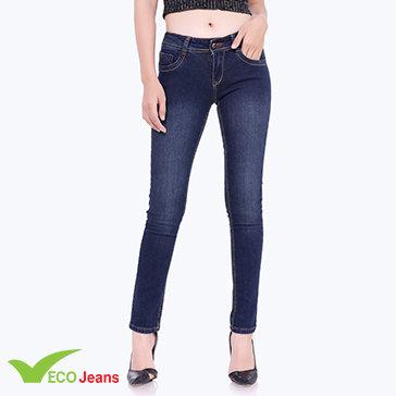 Quần Jean Dài Nữ-JNAD-042M1