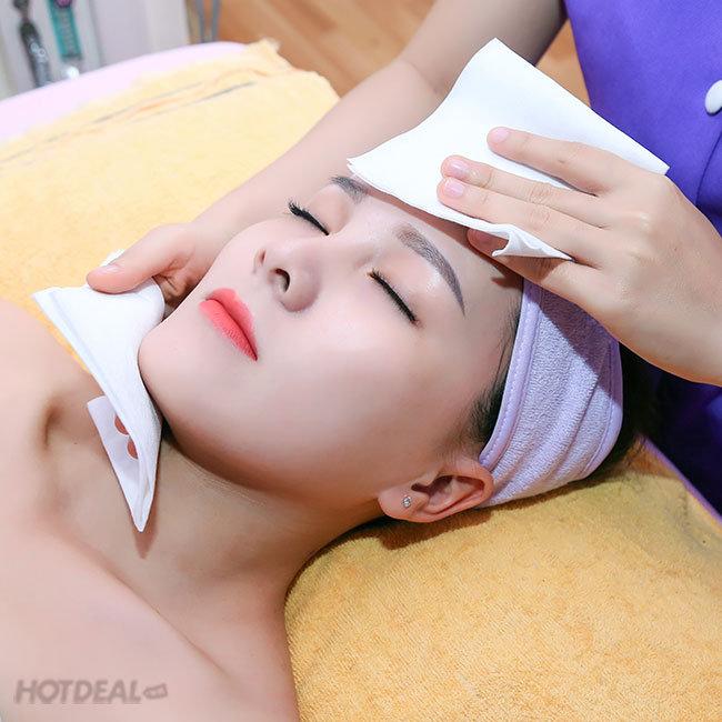 Xông Hơi + Massage Body + Foot/ Điều Trị Mụn, Thâm/ Tan Mỡ Siêu...