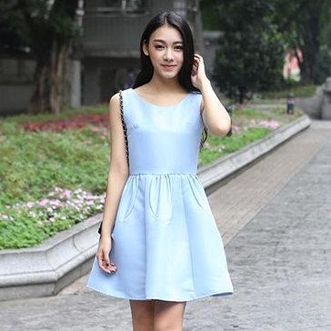 Đầm Xòe Form Rộng Đáng Yêu