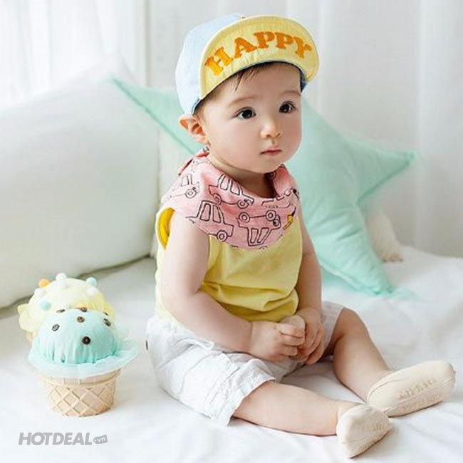 Nón Lưỡi Trai Phong Cách Hàn Quốc Cho Bé