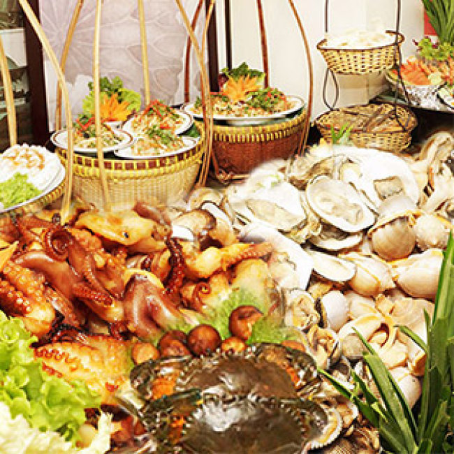 Buffet Gánh Tối - Khách Sạn Bông Sen