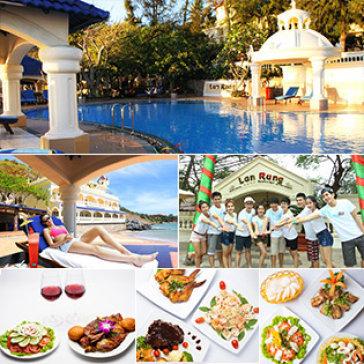 Lan Rừng Resort & Spa 4* Vũng Tàu 2N1Đ + Ăn Trưa/ Tối Hoặc Set Vịt Quay + Xông Hơi Miễn Phí