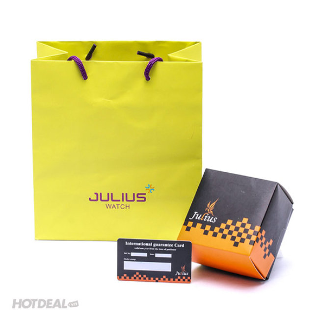 Đồng Hồ Nữ Julius JU952 (Thép Vàng)