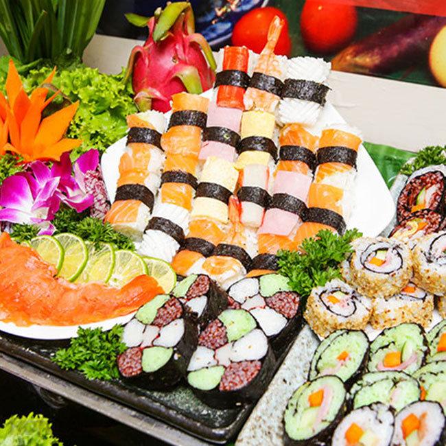 Buffet Gánh 3 Miền Buổi Trưa Tại Nhà Hàng Khách Sạn Bông Sen