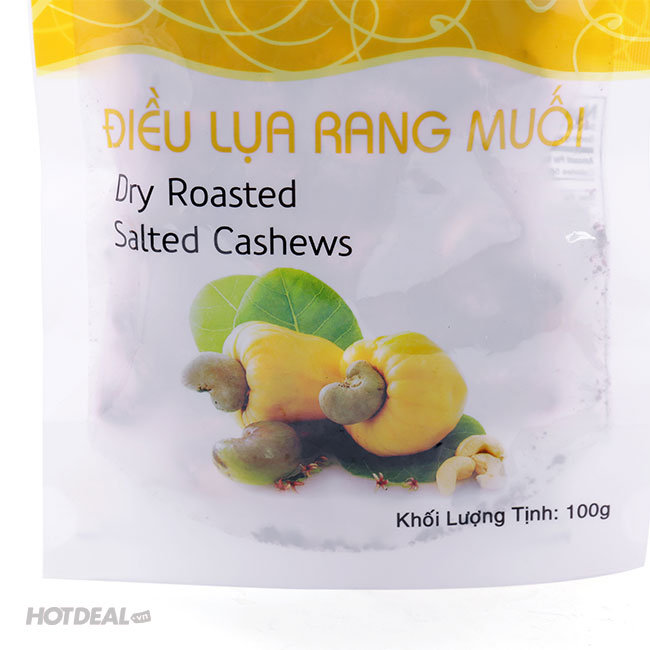 Combo 2 Gói Điều Lụa Rang Muối Bean Bean 100g/Gói