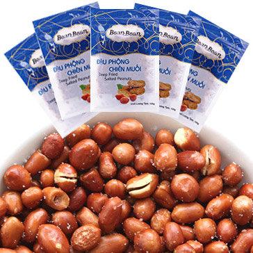 Combo 5 Gói Đậu Phộng Chiên Muối Bean Bean 100g/Gói