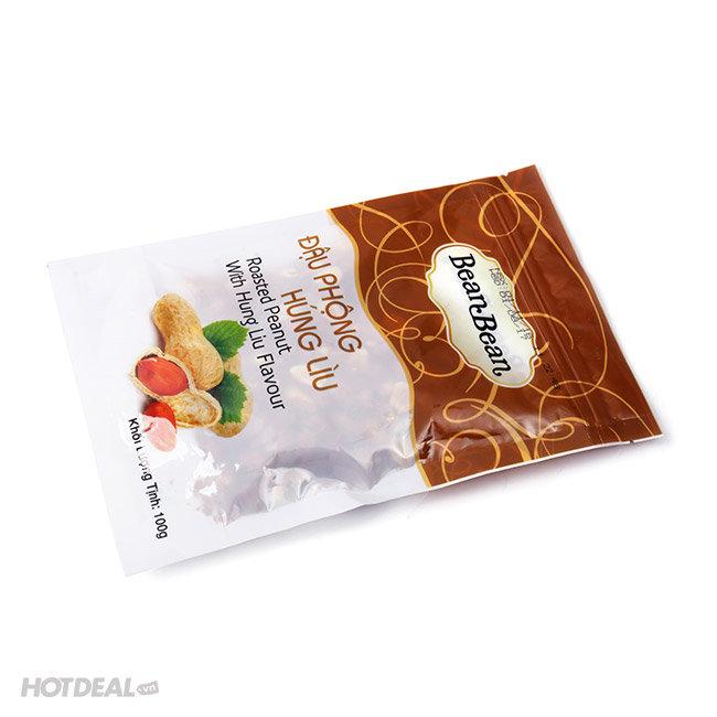 Combo 5 Gói Đậu Phộng Húng Lìu Bean Bean 100G/Gói