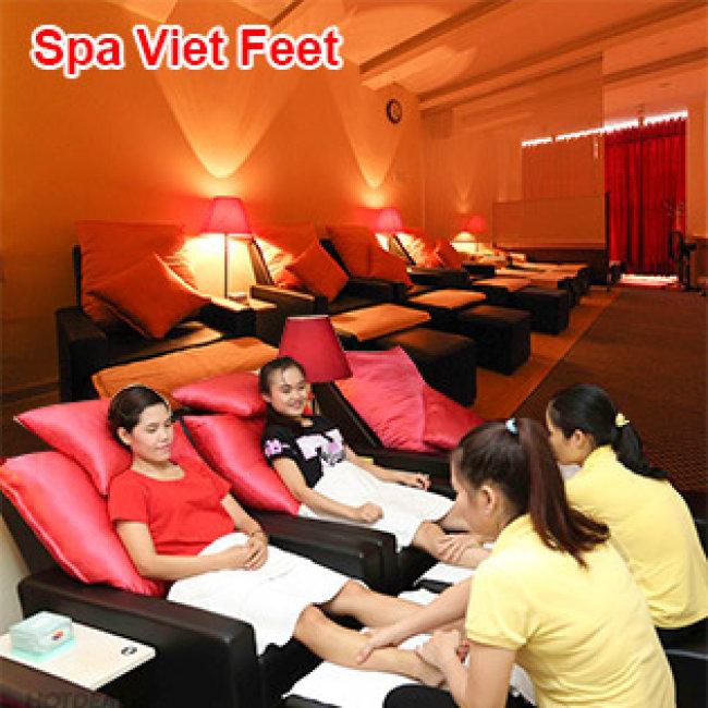 (70 Phút - Đã Bao Gồm TIP) Massage Foot + Body + Đá Nóng + Ngâm Chân...