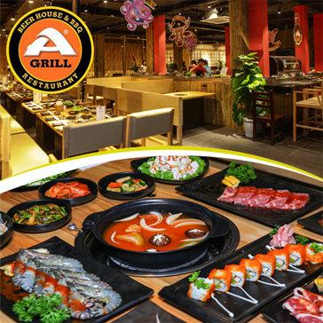 Buffet Lẩu - Sushi Tại Agrill Beer House & BBQ