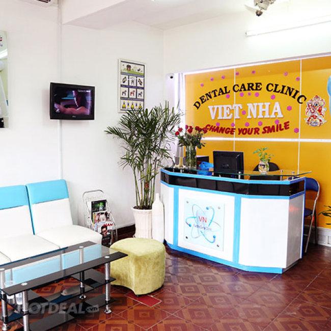 Tẩy Trắng Răng Bằng Đèn Plasma Tại Hệ Thống Nha Khoa Việt Nha