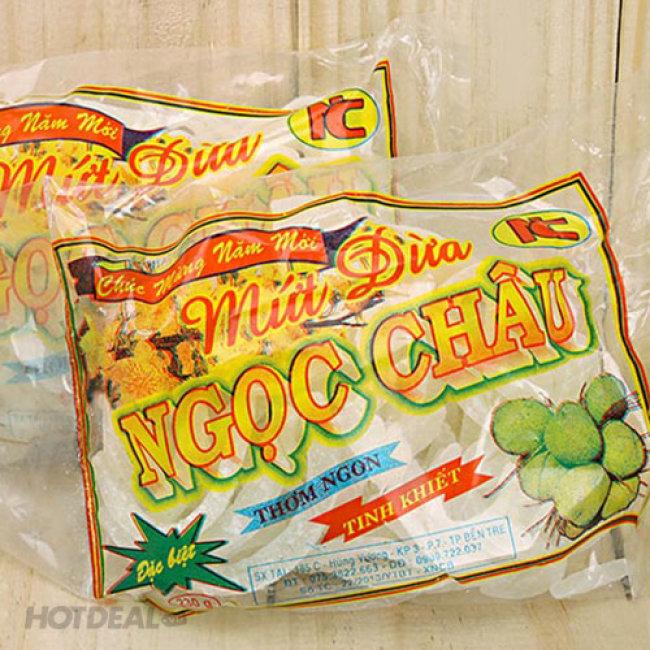 Combo Hộp Mứt Dừa Non + Mứt Dây Truyền Thống Tinh Khiết Bến Tre...