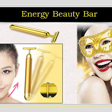 Máy Massage Mặt Mini 24K Energy Beauty Bar
