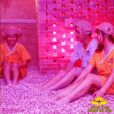 Nghỉ Dưỡng Cùng Gia Đình, Trải Nghiệm DV Jiim Jil Bang Evening Tại Golden Lotus