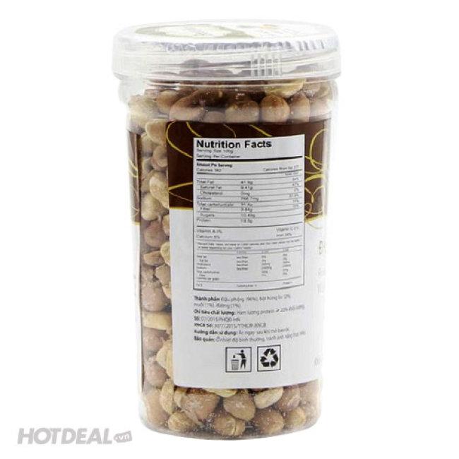 Combo 2 Hộp Đậu Phộng Húng Lìu Bean Bean 180g/Hũ