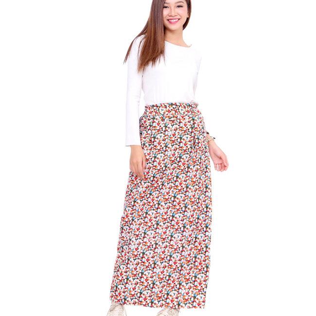 Váy Chống Nắng Vải Phi Cotton Hai Lớp